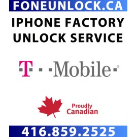 T-Mobile USA iPhone Unlock Service