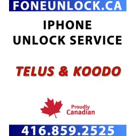 Telus / Koodo iPhone Unlock Service